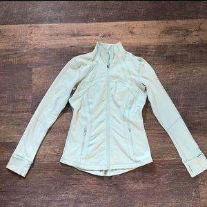 🍋Light Blue Define Jacket Lululemon Size 8